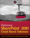 Professional sharepoint 2010 cloud based solutions